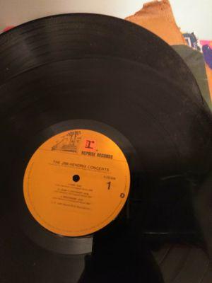 Large vinyl album collection