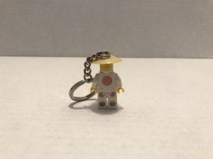LEGO Sensei Wu keychain