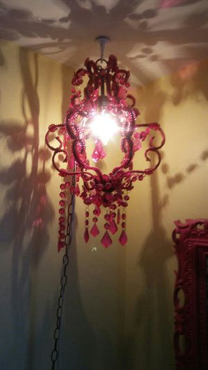 Pink Pendant Light
