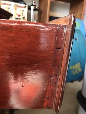 Antique (mahogany?) dresser