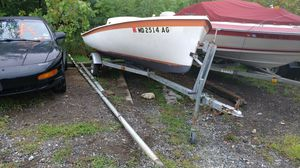1978 O'Day sailboat with outboard