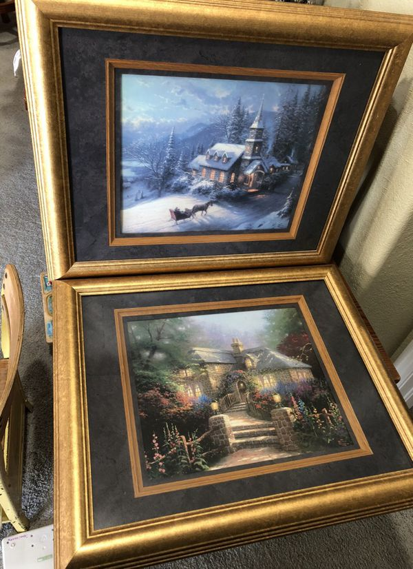 Thomas Kinkade framed prints (Collectibles) in Castle Rock, CO
