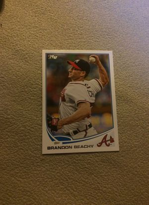 Brandon Beachy Baseball Card