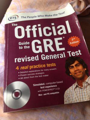 GRE Preparation books