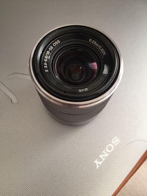 Sony NEX E-mount lens