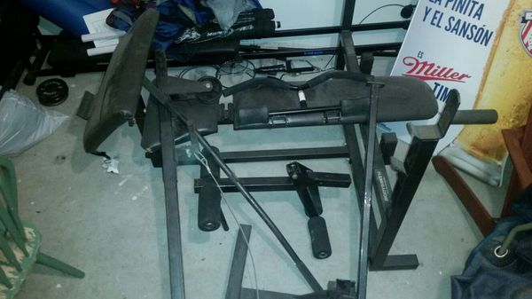 Complete bodysmith bench with accessories and standard ...