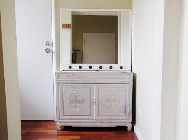 Credenzashoe Storagetv Stand With Mirror Furniture In Oakland