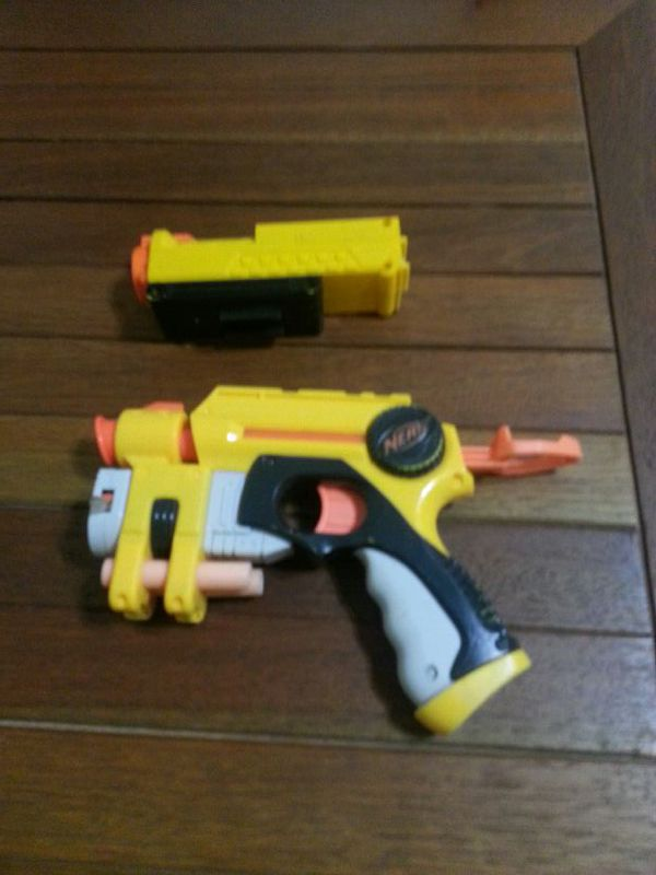 Nerf Gun with Laser Sight and Night Vision Light