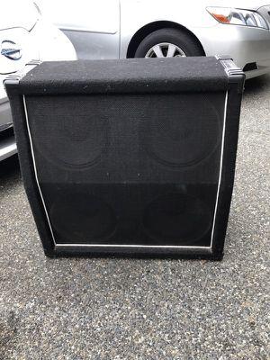 "Bass Cab. 4-12"" speakers. No amp. 8 Ohm, 140 Watt"