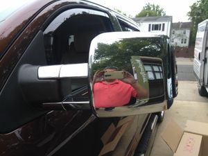 Towing mirrors for Toyota tundra used para tundra UN poquito rallados