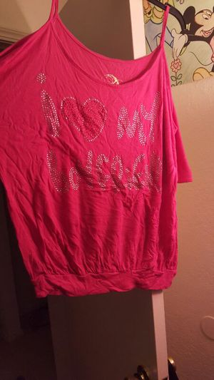 I love my boyfriend shirt, used for sale  101 miles · Tulsa, OK