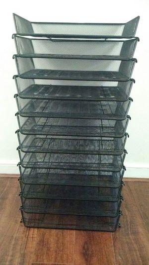 12 mesh trays