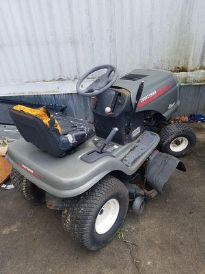 Craftsman riding mower lt2000