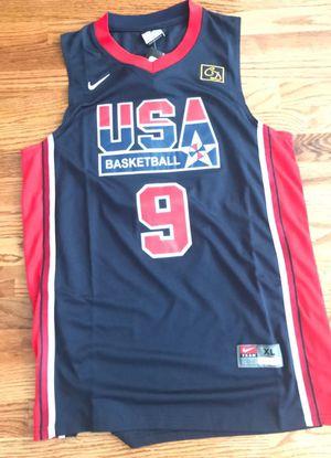 NBA USA Dream team Jordan #9 size XL (new)