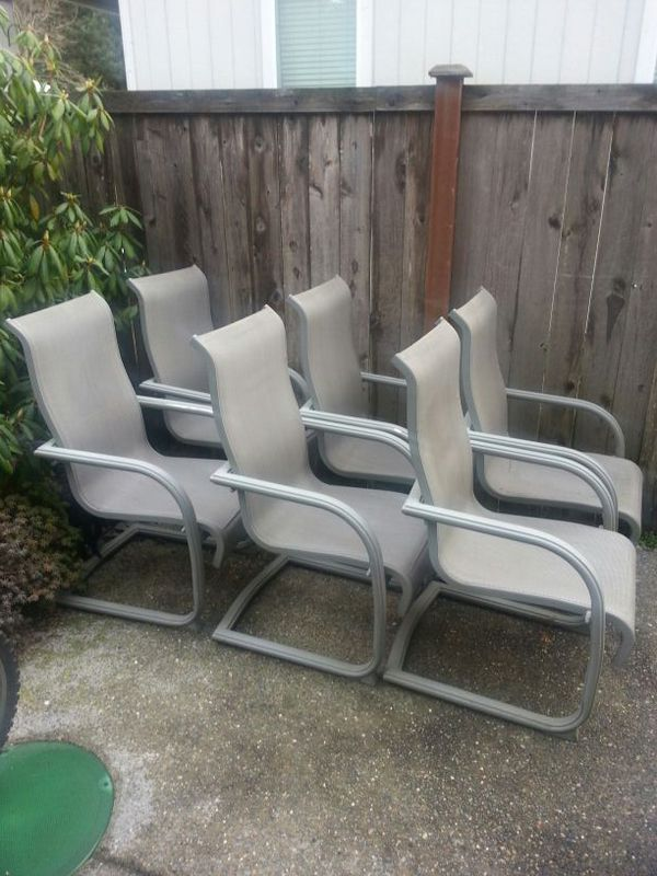 Outdoor chairs furniture in spanaway wa offerup for Outdoor furniture hwy 7
