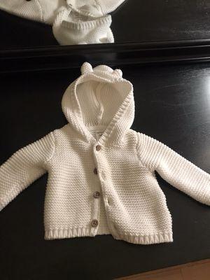 Carter's NB Baby Bear Sweater New WOT