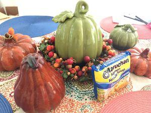 Fall glass pumpkin collection