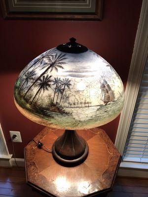 "Handel ""Treasure Island"" Lamp Circa 1904-1941"