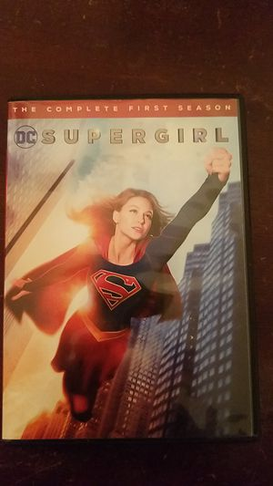 Supergirl The Complete first season dvd