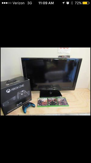 Elite Xbox One 1TB with Shadow Wave Controller + 3 Games and 32 inch Tv