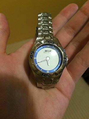 Relic watch water proof
