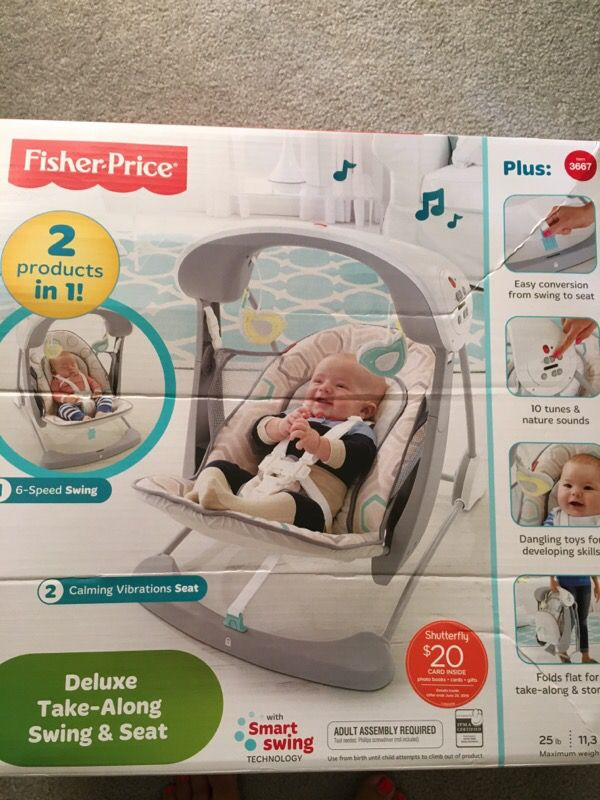 Fisher-Price Deluxe portable swing (Baby & Kids) in Monroe ...
