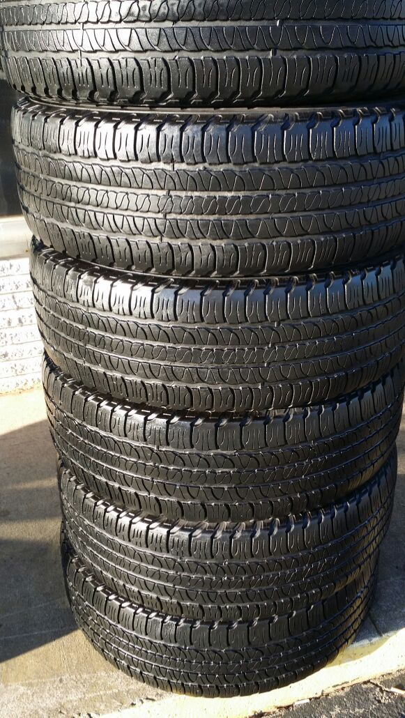 We have a quality used set of goodyear 255.65r18 (Auto Parts) in ...