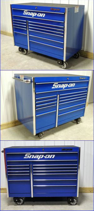 Snap On Blue Tool Box Like New Excellent Condition!!!!!!