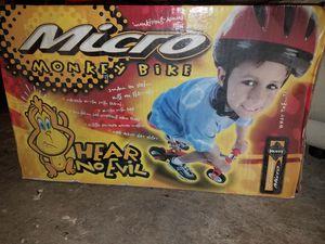 Huffy micro monkey (clown) bike