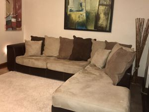 Large Family Size Sectional from Ashley(Delivery) PRICE FIRM-NOT INTERESTED IN LOWER OFFERS