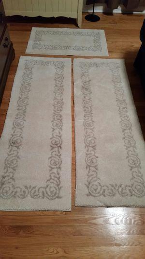 3 pc runner rug set