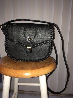 Black Leather Purse