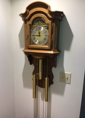 German Oak Wall Clock
