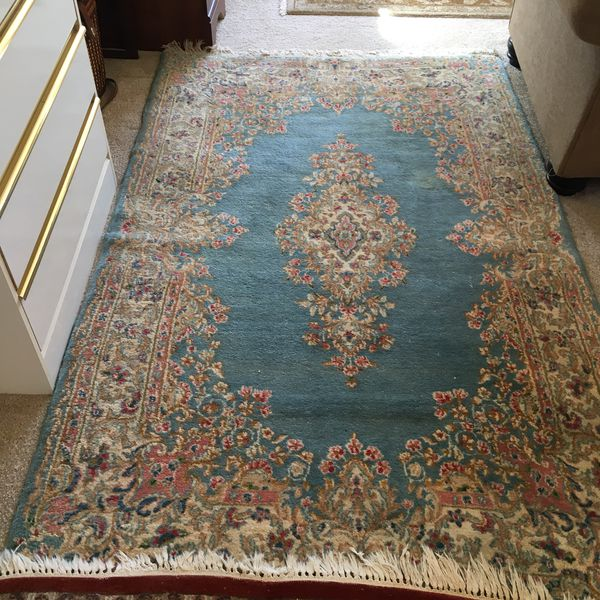 Persian wool hand woven 5x7 rug