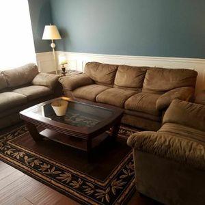 Leather sofa set Three Piece
