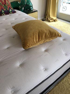 Velvet Pillow Noble Yellow