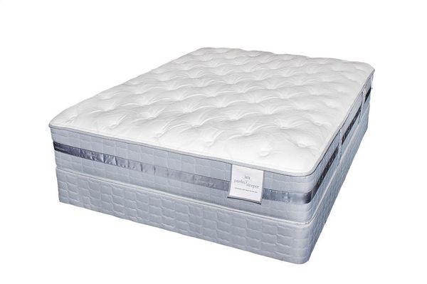 King Serta Perfect Sleeper Mattress Boxspring Set Furniture In