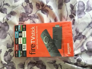 Fire tv stick need gone brand new