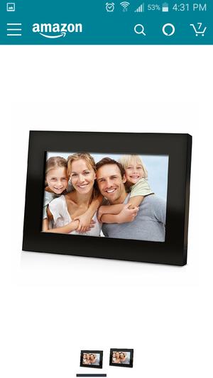 """Digital photo frame, 7"""" screen"""