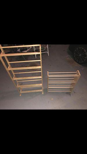 2 Wooden Racks