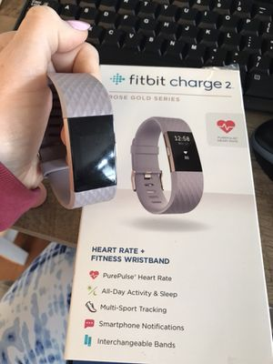 Fitbit Charge 2 Rose gold edition