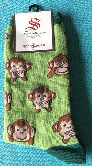 Socksmith Green Monkey Socks - NEW!