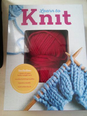 Learn to Knit kit