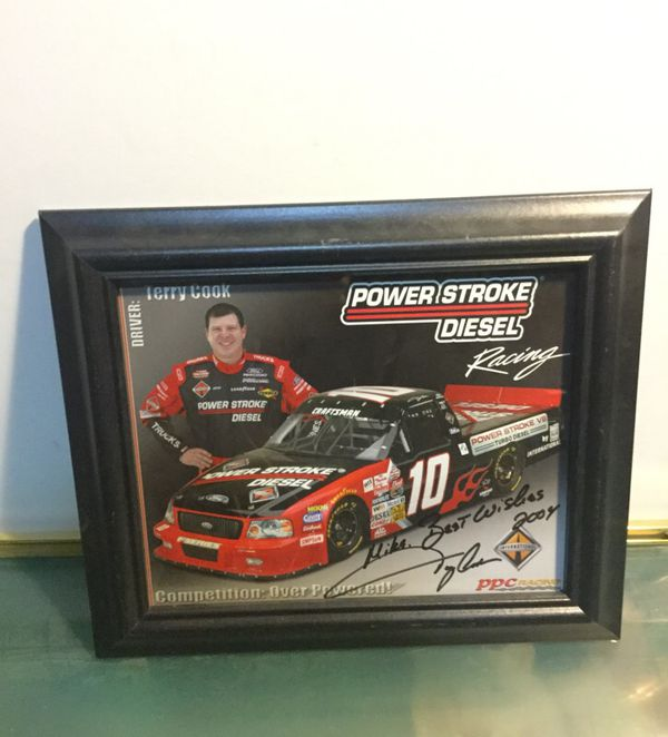 Offerup Las Vegas >> Terry Cook Power Stroke Racing Autograph Collectibles In