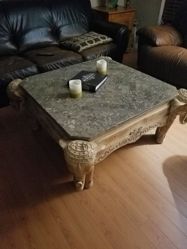 Elephant coffee table (Furniture) in Port St. Lucie, FL - OfferUp
