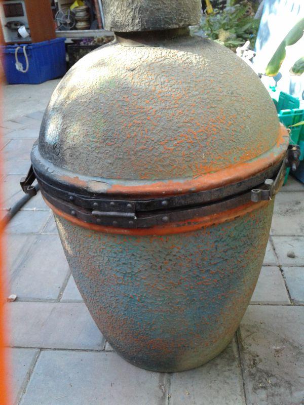 Original Imperial Japanese Kamado Egg Smoker Grill