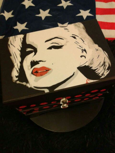 MARILYN MONROE JEWELRY BOX Jewelry Accessories in Redwood City CA