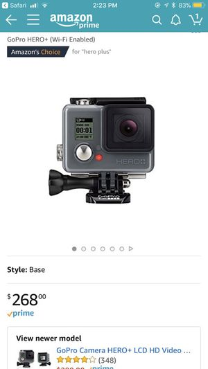 Go Pro Plus never used