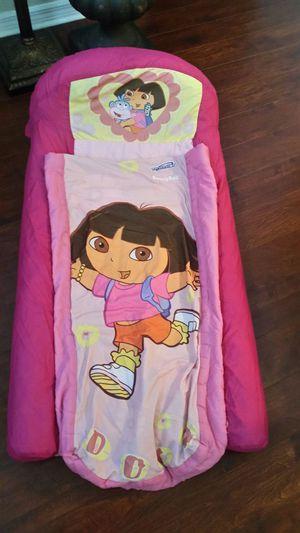 Dora the Explorer sleeping bag / air mattress