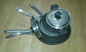 6 cooking pans